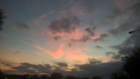 Koloru niebo obrazy stock
