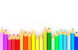 Koloru ołówek Obraz Royalty Free