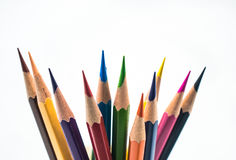 Koloru ołówka golenia Zdjęcie Royalty Free