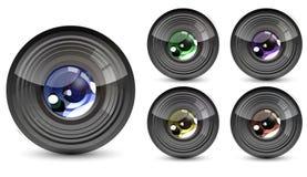 koloru obiektyw Zdjęcia Royalty Free