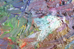 koloru oleju tekstura Obrazy Royalty Free