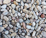 Koloru otoczaka kamień w tle Zdjęcie Stock