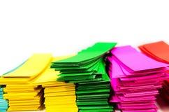 Koloru papier Zdjęcie Royalty Free