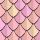 Koloru papieru cięcie waży bezszwową teksturę ilustracji