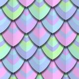 Koloru papieru cięcie waży bezszwową teksturę royalty ilustracja