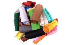 Koloru papieru rolki Obrazy Stock