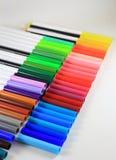 koloru pióro Zdjęcia Royalty Free