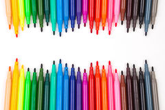 Koloru pióro Fotografia Stock