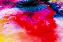 Koloru pluśnięcia holi zdjęcie stock