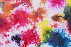 Koloru pluśnięcia holi obrazy stock