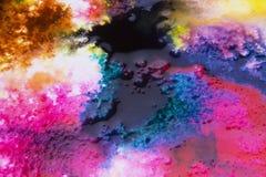 Koloru pluśnięcia holi obraz royalty free