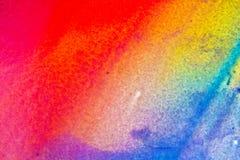 Koloru pluśnięcia holi fotografia stock