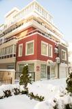 Koloru Pomorie zima 2017 w Bułgaria Fotografia Royalty Free