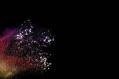 Koloru prochowy wybuch zdjęcie royalty free