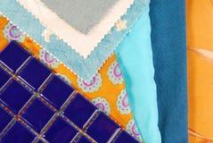 Koloru projekta wybór dla wnętrza Obraz Royalty Free