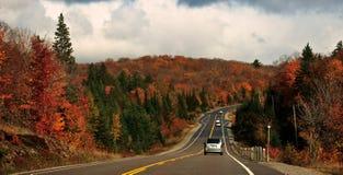 koloru przejażdżki spadek droga Zdjęcie Stock