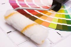 koloru przewdonik Obraz Stock