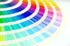 Koloru przewdonika swatch Obraz Stock