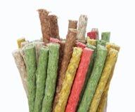 koloru psiego jedzenia mieszanka Fotografia Stock
