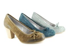koloru różna butów kobieta Obrazy Royalty Free