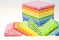 koloru różnorodny papierowy Obraz Stock