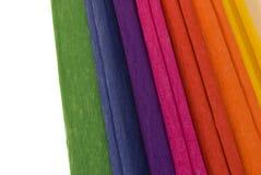 koloru różnorodny papierowy Zdjęcia Stock