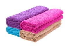 Koloru ręcznik Zdjęcia Royalty Free