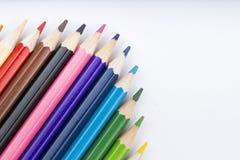 Koloru rysunek i ołówki Obraz Royalty Free
