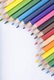 Koloru rysunek i ołówki Zdjęcie Royalty Free