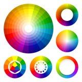koloru setu koła Obraz Royalty Free