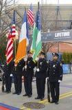 Koloru strażnik Nowy Jork departament policji Fotografia Stock