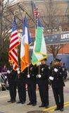 Koloru strażnik Nowy Jork departament policji Obrazy Royalty Free
