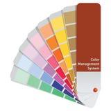 Koloru system zarządzania ilustracja wektor