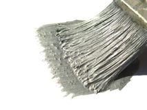 koloru szczotkarski srebro Obrazy Stock