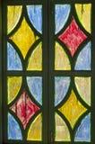 Koloru szklany okno Obraz Royalty Free