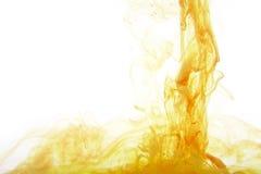 Koloru tła abstrakcjonistyczni atramenty w wodzie obraz stock