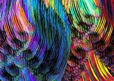 Koloru tła grafiki tekstura kolorowego tekstura projekta tła nowożytna cyfrowa graficzna sztuka obrazy stock