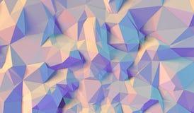 Koloru tło trójboki Obraz Royalty Free