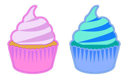 Koloru tort zdjęcie stock