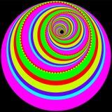 koloru twirl Obrazy Stock