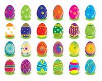 koloru wschodni jajek królika gmeranie ilustracji