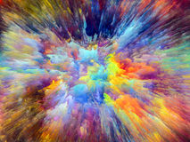 Koloru wybuch Obraz Royalty Free