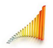 koloru wykres Zdjęcie Stock