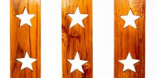 Koloru wzór tekowy drewno Fotografia Royalty Free