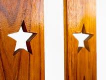 Koloru wzór tekowy drewno Obrazy Stock