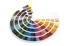 Koloru zarządzanie, kolor mapa/ Obrazy Royalty Free