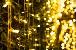 Kolory żółci prowadzący światła Obrazy Royalty Free