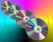 kolory cd Zdjęcie Stock