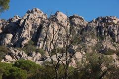Kolory i kształty granit Fotografia Royalty Free