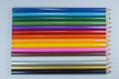 Kolory kolorystyka ołówki Zdjęcie Royalty Free